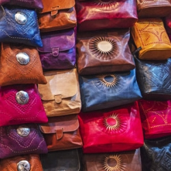 Moroccan Leather Bags