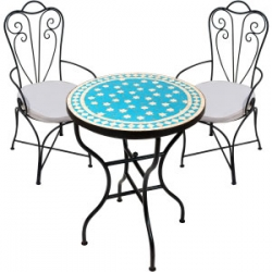 Mediterranean garden furniture set