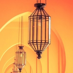 Light fittings and pendant lamps